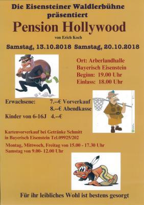 Plakat Theateraufführung 2018