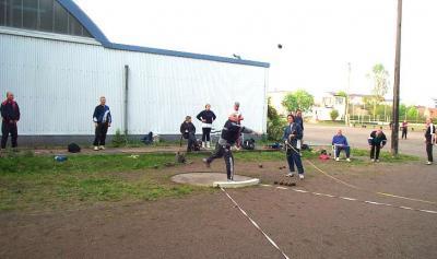 Foto zur Meldung: Abendsportfest Wurf (Kugel - Diskus - Hammer)