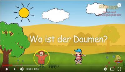 """Vorschaubild zur Meldung: Kita-Fingerspiel """"Wo ist denn der Daumen"""""""
