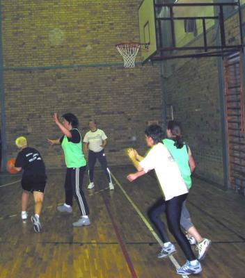 Foto zur Meldung: Traditionelles Basketballturnier des LSV Niesky