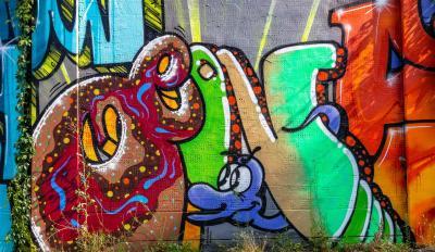 Graffiti-Projekt für Jugendliche in Sontra