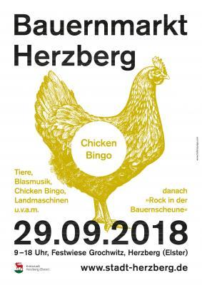 Plakat Bauernmarkt