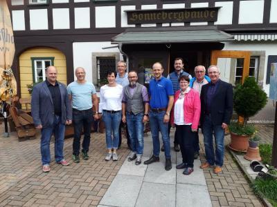Oberlausitzer Keissportbund-Präsidium in Klausur