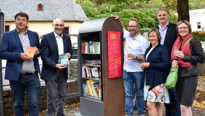 Vorschaubild zur Meldung: Mini Bücherschrank in Dalberg