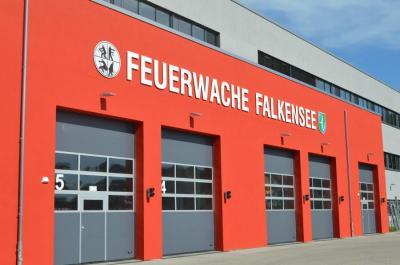 Unser Bild zeigt die neue Feuer- und Rettungswache an der Schönwalder Straße