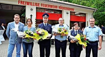 Foto zur Meldung: Amt Elsterland sagt seinen Feuerwehren Danke