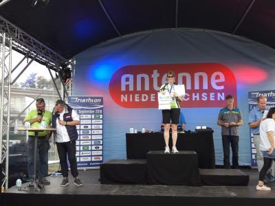 Vorschaubild zur Meldung: Kathrin und Jörg Lindert bei Triathlon-LM erfolgreich