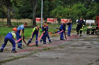 Vorschaubild zur Meldung: Feuerwehr Oranienburg: Stadtjugendwettbewerb