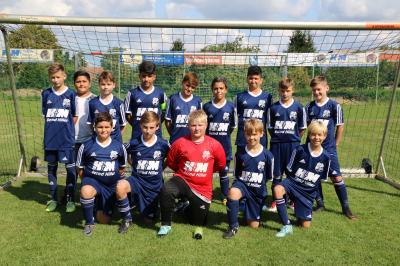 Foto zur Meldung: U13: D1-Jugend - Im dritten Spiel drei Punkte eingefahren