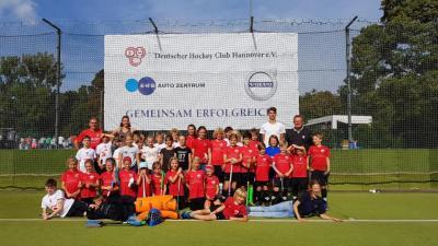 Foto zur Meldung: PSU-Mädchen C beim Wilhelm Hirte Cup in Hannover