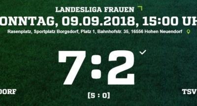 Foto zur Meldung: 2.Forst Borgsdorf – Frauen 2018/2019