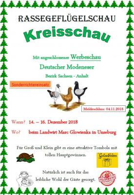 Flyer Kreisschau
