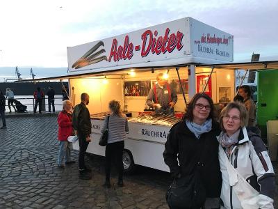 Foto zur Meldung: HH Fischmarkttour mit dem Bürgerverein