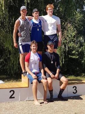 Foto zur Meldung: Norddeutsche Meisterschaft im Kanurennsport