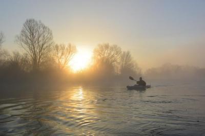 Foto zur Meldung: Niedersächsische Kanuten umrunden 2017 sechzehn Mal die Erde