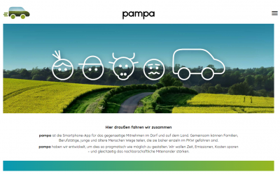 """Foto zur Meldung: REGION: Mobilitäts-App """"pampa"""" in Prädikow vorgestellt"""