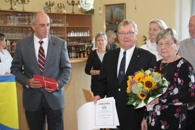 Foto zu Meldung: Hans Heinrich Langholz wird Ehrenbürger