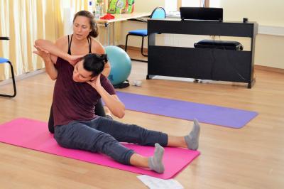 Stadt Perleberg, 2018 | Pilates als Unterrichtsfach zur Lotte Lehmann Akademie
