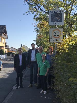 Vorschaubild zur Meldung: Verkehrssicherheit in Willingshausen verbessert