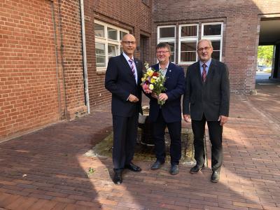 Foto zur Meldung: Halldor Lugowski zum stellvertretenden Bürgermeister gewählt