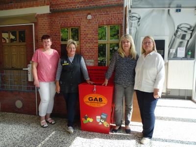 Foto zu Meldung: Lebensmittel-Spendenbox