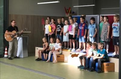 Foto zur Meldung: Neue Räumlichkeiten am 20.09.2018 an Marienkäferschule Bahrdorf übergeben