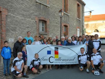 Treffen mit den Mitgliedern des Châlonser Vereins AmiC'allemand