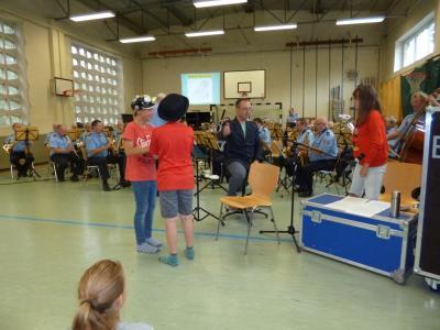 Vorschaubild zur Meldung: Landespolizeiorchester spielt in Rathenow-West