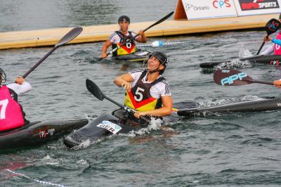 Foto zur Meldung: Bei der diesjährigen Weltmeisterschaft im Kanupolo holten die deutschen Frauen den Titel