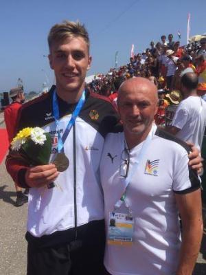 Foto zur Meldung: WM-Gold für Jakob Thordsen