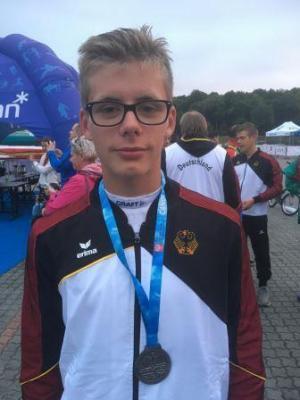 Foto zur Meldung: Internationaler Durchbruch für Nachwuchsrennsportler David Appelhans