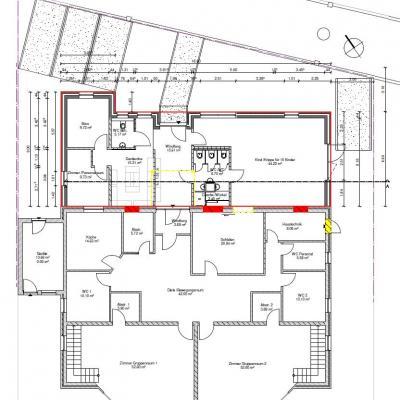 Foto zu Meldung: Änderung - Erweiterungsbau Kita Grafhorst