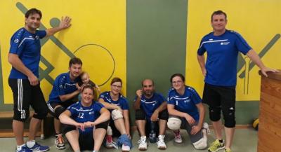 Vorschaubild zur Meldung: Starkes Auftaktspiel in der Volleyball-Hobbymixliga