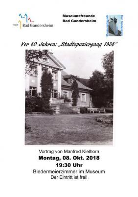"""Vorschaubild zur Meldung: Vor 80 Jahren:""""Stadtspaziergang 1938"""""""