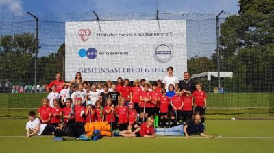 Foto zur Meldung: PSU Mädchen D und Knaben D beim Wilhelm-Hirte-Cup in Hannover