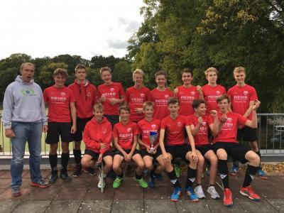 Foto zur Meldung: Unsere MJB hat es geschafft  - der Pokal bleibt in Potsdam