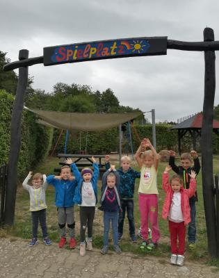 Vorschaubild zur Meldung: Spielplatzarbeiten