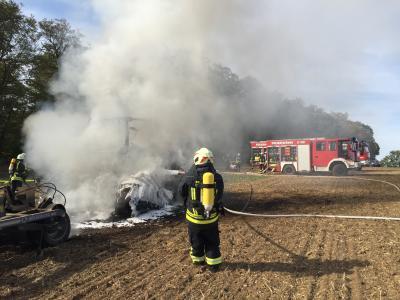 Vorschaubild zur Meldung: Einsatz Feuerwehr Ifta