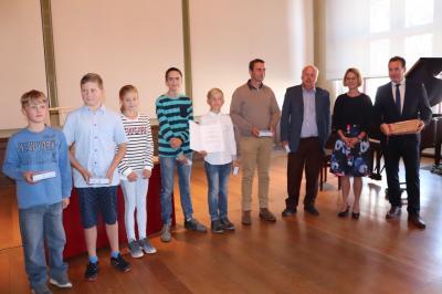 Foto zur Meldung: Denk mal!Preis für Kinder- und Jugendliche 2018 an 'Junge Archäologen'