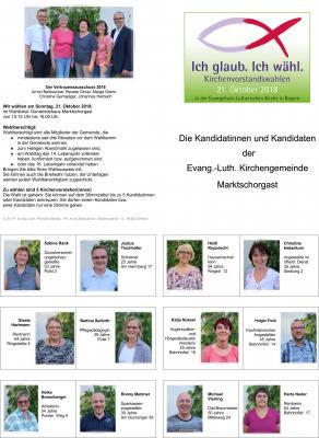 Foto zur Meldung: Evang. Kirchengemeinde - Kirchenvorstandswahl am 21.10.2018