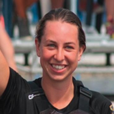 Foto zur Meldung: Die Vielseitige: Kanupolo-Weltmeisterin Svenja Schaeper über den Spaß am Spiel und über Freundschaften