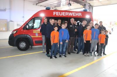 Vorschaubild zur Meldung: Feuerwehr Brandoberndorf hat einen neuen MTW 15.000 Euro von der Gemeinde, Restsumme vom Feuerwehrverein