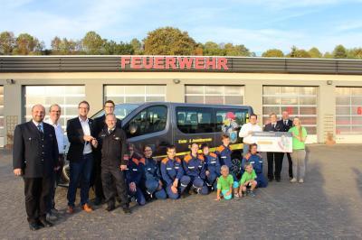 Eine besondere Fahrzeugübergabe gab am 20. September für die Kinder- und Jugendfeuerwehr der Stadt Sontra.