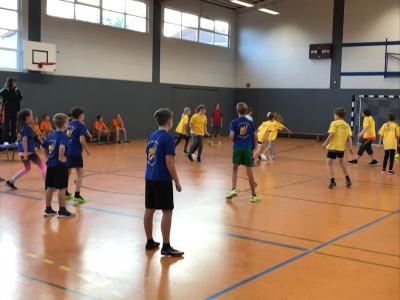 Foto zur Meldung: Zweifelderballturnier der 6. Klassen aus Kremmen und Beetz