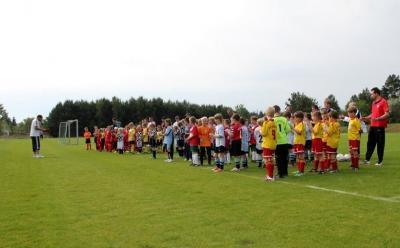 Foto zur Meldung: Das Juniorenturnier anlässlich unseres 110jährigen Jubiläums.