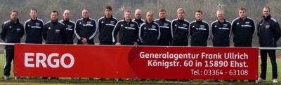 Foto zur Meldung: Neue Trainingsanzüge für die II.Männermannschaft