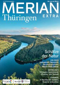 Cover der Merian - Sonderausgabe Thüringen Extra
