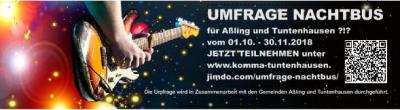 Vorschaubild zur Meldung: Brauchen Aßling und Tuntenhausen einen Nachtbus?