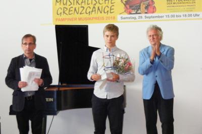Foto zur Meldung: Pampiner Musikpreise gingen nach Ludwigslust, Plau am See und Wittenberge