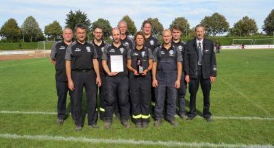 Vorschaubild zur Meldung: FFW Erdpenhausen belegt 6. Platz beim Landesentscheid